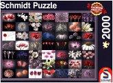 Schmidt 58297 - Blumengruß, Puzzle, 2000 Teile