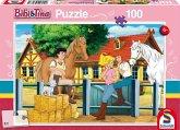 Schmidt 56187 - Bibi und Tina auf Martinshof Puzzles, 100 Teile