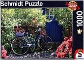 Schmidt 58275 - Landpartie mit Rad, Puzzle, 1000 Teile