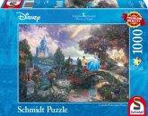 Schmidt 59472 - Thomas Kinkade, Disney Cinderella, Puzzle, 1000 Teile