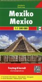 Freytag & Berndt Auto + Freizeitkarte Mexiko, Autokarte 1:1.500.000; Mexico