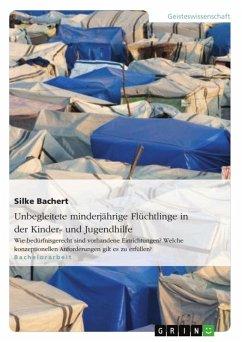Unbegleitete minderjährige Flüchtlinge in der Kinder- und Jugendhilfe (eBook, ePUB)