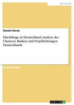 Flüchtlinge in Deutschland. Analyse der Chancen, Risiken und Verpflichtungen Deutschlands (eBook, ePUB)