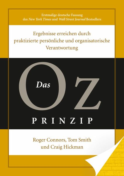 Das Oz-Prinzip (eBook, ePUB) - Connors, Roger; Smith, Tom; Hickmann, Craig