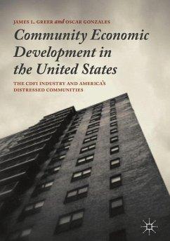 Community Economic Development in the United States - Greer, James L.; Gonzales, Oscar