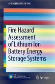 Fire Hazard Assessment of Lithium Ion Battery Energy Storage Systems