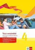 Tous ensemble 4. Fit für Tests und Klassenarbeiten mit Lösungen und Multimedia-CD