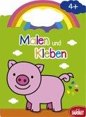 Malen und Kleben - Schwein