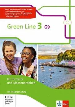 7. Klasse, Fit für Tests und Klassenarbeiten, m. CD-ROM / Green Line G9, Ausgabe ab 2015 Bd.3
