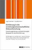 Einführung in die erziehungswissenschaftliche Diskursforschung (eBook, PDF)