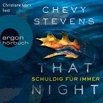That Night - Schuldig für immer (Ungekürzte Lesung) (MP3-Download)
