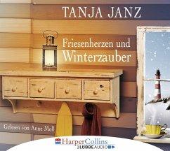 Friesenherzen und Winterzauber, 4 Audio-CDs - Janz, Tanja