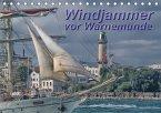 Windjammer vor Warnemünde (Tischkalender 2017 DIN A5 quer)