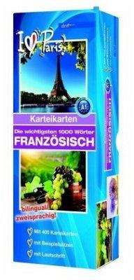 Karteikartenbox 1000 Wörter Französisch Niveau A1