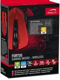 SPEEDLINK FORTUS Gaming Mouse - Wireless, black