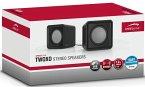 SPEEDLINK TWOXO Stereo Speakers, black