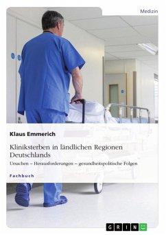 Kliniksterben in ländlichen Regionen Deutschlands (eBook, ePUB)