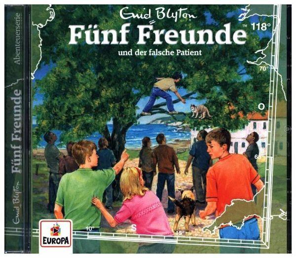 Fünf Freunde und der falsche Patient, 1 Audio-CD