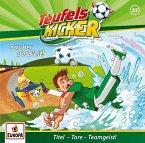 Sauber gespielt! / Teufelskicker Hörspiel Bd.63 (1 Audio-CD)