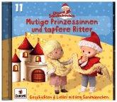 Unser Sandmännchen - Mutige Prinzessinnen und tapfere Ritter, 1 Audio-CD