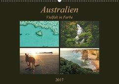 9783665033408 - Wasilewski, Martin: Australien - Farbige Vielfalt / Ch-Version (Wandkalender 2017 DIN A2 quer) - Book