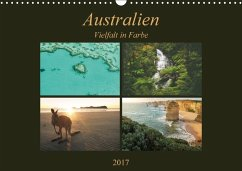 9783665033392 - Wasilewski, Martin: Australien - Farbige Vielfalt / Ch-Version (Wandkalender 2017 DIN A3 quer) - Book