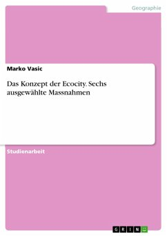 Das Konzept der Ecocity. Sechs ausgewählte Massnahmen (eBook, PDF)