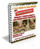 2 Easy Ways to Help You Lose Weight Before Christmas (eBook, PDF)
