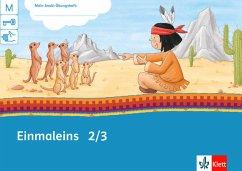 Einmaleins 2/3 / Mein Indianerheft 3