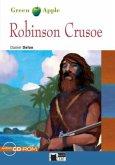 Robinson Crusoe. Buch + Audio-CD-ROM