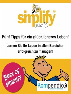 simplify your life (eBook, ePUB) - Drost-Hüttl, Ruth