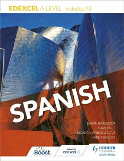 Edexcel A level Spanish (includes AS) - Thacker, Mike; Barefoot, Simon; Mee, David