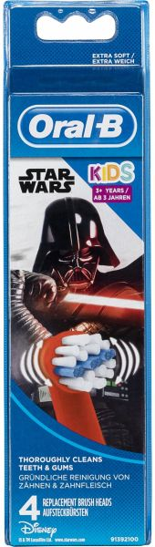 braun oral b aufsteckb rsten starwars 4er portofrei bei b kaufen. Black Bedroom Furniture Sets. Home Design Ideas