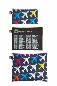 Zip Pockets AIRPORT Airplane