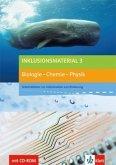 Inklusionsmaterial Biologie 3 - Chemie - Physik. Buch mit CD-ROM 9./10. Schuljahr