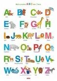Fragenbär-Lernposter: Mein erstes ABC der Tiere