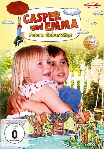 casper und emma feiern geburtstag film auf dvd b. Black Bedroom Furniture Sets. Home Design Ideas