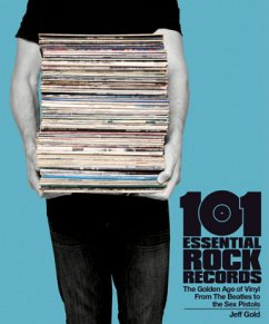 101 Essential Rock Records (PB) - Gold, Jeff