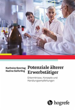 Potenziale älterer Erwerbstätiger - Sonntag, Karlheinz; Seiferling, Nadine