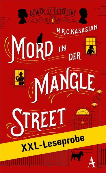XXL-LESEPROBE: Kasasian - Mord in der Mangle Street (eBook, ePUB) - Kasasian, MRC