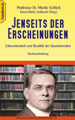 Jenseits der Erscheinungen (eBook, ePUB) - Schlick, Moritz