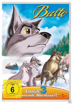 Balto - Enthält 3 spannende Abenteuer (3 Discs)