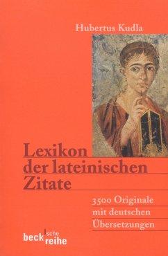 Lexikon der lateinischen Zitate (eBook, ePUB)