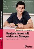 Deutsch lernen mit einfachen Dialogen