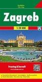 Freytag & Berndt Stadtplan Zagreb; Zagabria