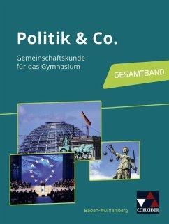 Politik & Co. 8-10 neu Lehrbuch Baden-Württemberg - Hecht, Dörthe; Kübler, Gerfried; Müller, Erik; Podes, Stephan; Rehm, Tina; Reiter-Mayer, Petra; Riedel, Hartwig