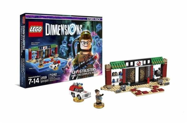 lego dimensions story pack new ghostbusters figuren lego steine bei b immer portofrei. Black Bedroom Furniture Sets. Home Design Ideas