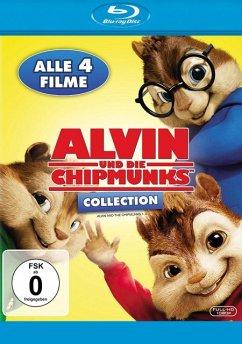 Alvin und die Chipmunks Collection 1-4 BLU-RAY Box