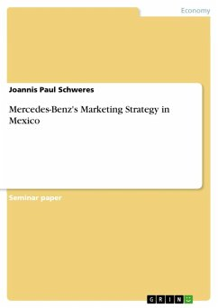Mercedes-Benz's Marketing Strategy in Mexico (eBook, ePUB)