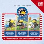 Der Kleine Rabe Socke-3-CD Hörspielbox Vol.1